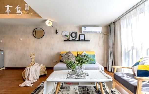【灰IKEA】2号线地铁上盖Loft公寓。直达西湖断桥,近良渚。2室1厅整租