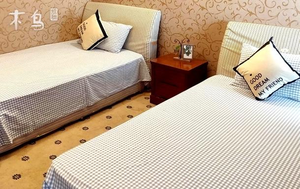 2床3人  人民广场/外滩/南京路/豫园一居室