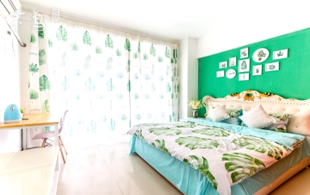 大东海★椰海绿色好心情海景两室一厅