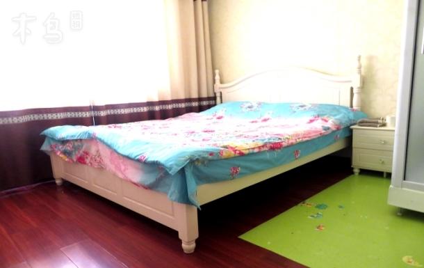 惠济万达旁精装温馨独卫1.8米大床房能洗衣做饭