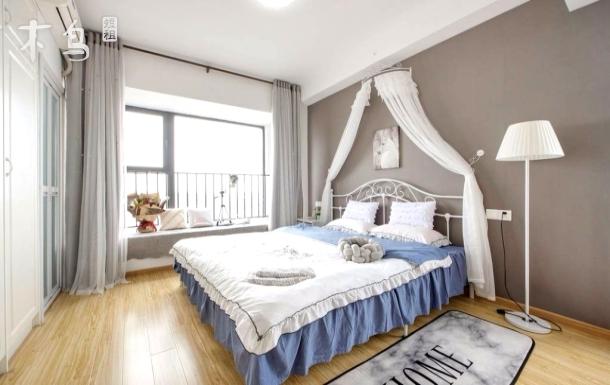 合景领峰公寓 浪漫地铁口高BIG大床房