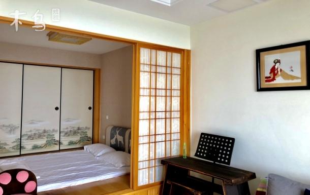 太湖度假区国际会议中心旁日式精装湖景一居室
