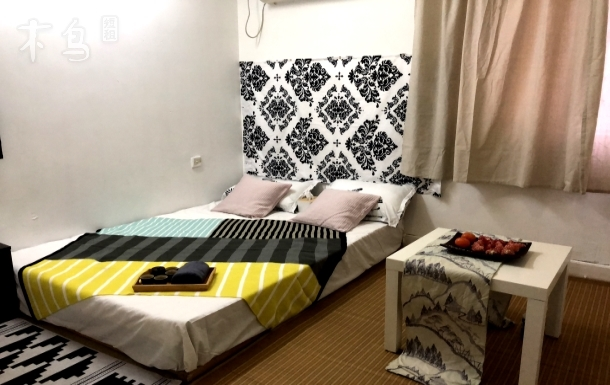 北外滩附近两房间大床房江浦公园地铁站