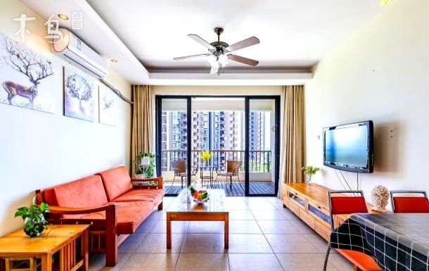 三亚湾海景阳光棕榈湾三居室