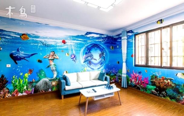 上海海昌海洋极地馆附近 两居室
