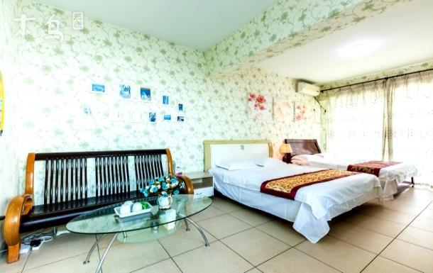 大东海 蓝海港湾 一室一厅三人房