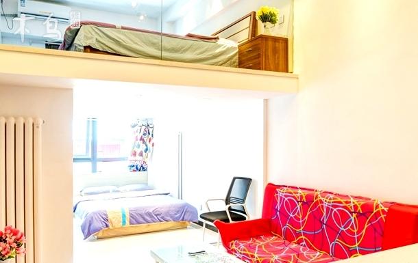 凯乐公寓.4号线星光影视城温馨复式lfto近北京南站