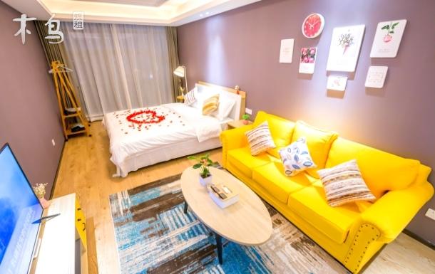 忆家公寓未来科技城杭师大旁豪华大床房