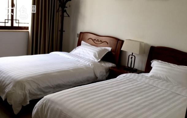 望林屋双床房太湖度假区金庭镇西山 标准间