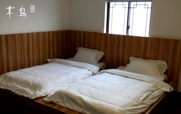 林屋洞风景区南面日式榻榻米双床房