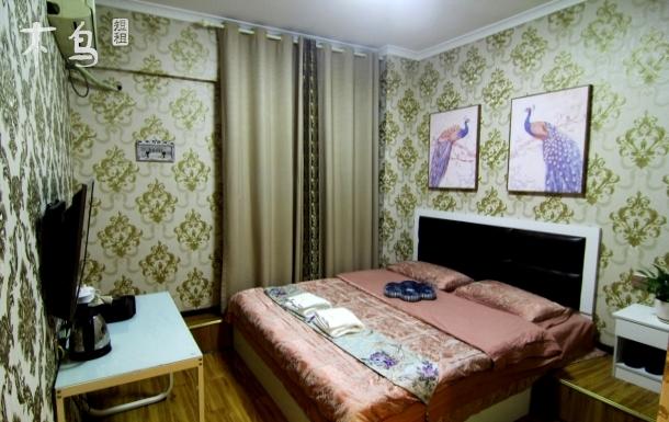 军区总医院熊猫基地附近独卫欧式大床房