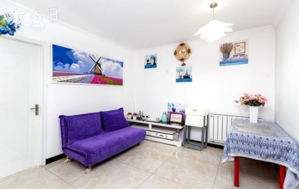 大山子798艺术区三居室 可住6人