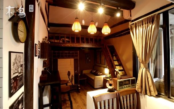 北京胡同露台小院loft3步行雍和宫孔庙地铁簋街