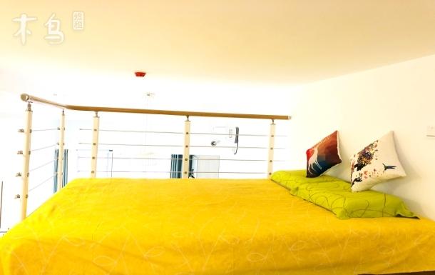 杭州西溪小清新 loft复式民宿 全套 两居室