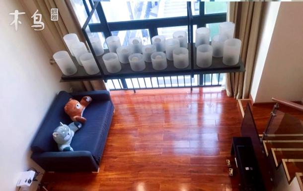 张家小苑复式投影仪房长隆地铁口直达广州塔