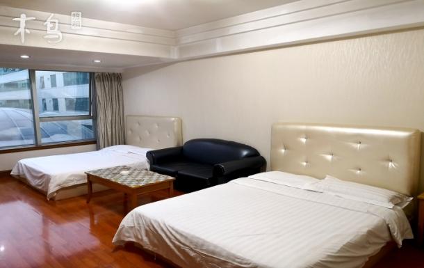 北京崇文门同仁医院附近标准双大床房
