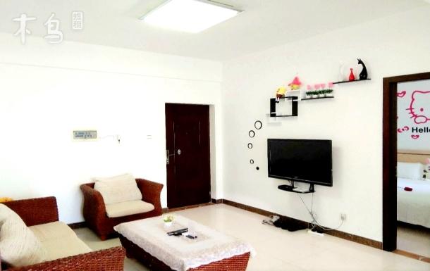 三亚湾椰梦长廊一线海景两房两居室