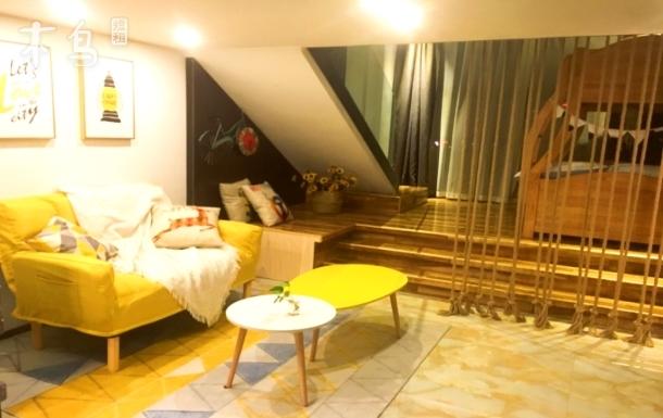 长隆地铁口豪华复式loft度假家庭套房