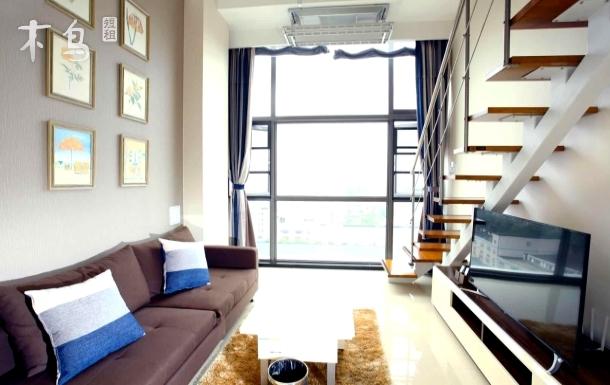漫居忆栈/万达/复式loft公寓