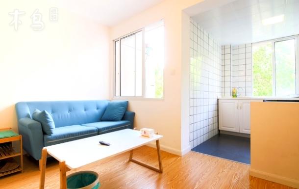 朝晖四区两室一厅精装新房全套家具阳光房