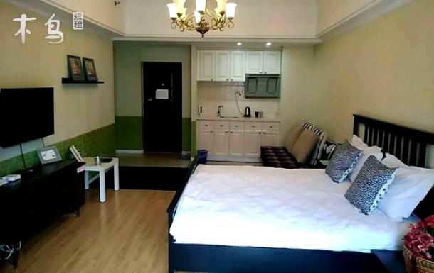 铁马公寓    哈西万达广场 舒适大床房