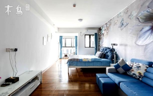 广交会优选/可做饭/欧式风格豪华精品舒适1.8m大床房/君立国际公寓/同和地铁站