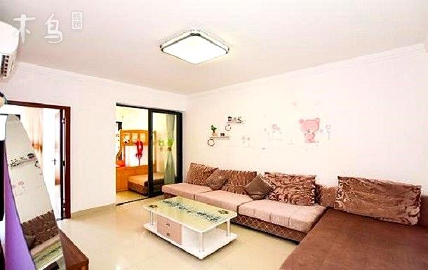 金茂海景花园 澜梦阁子母床两室一厅