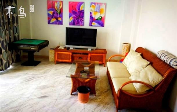 三亚海边复式楼四室两厅246做饭居家房源