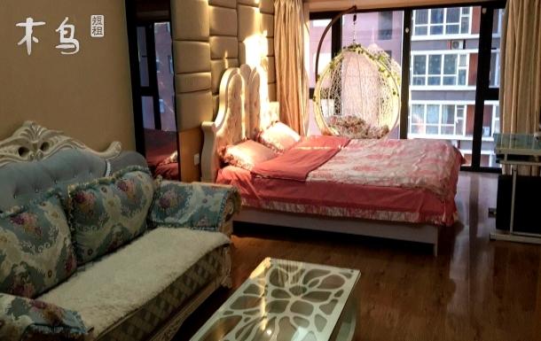 中街天润公寓精美浪漫一居室