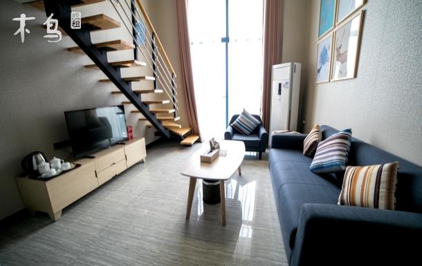 广州高赛思公寓南站豪华复式大床房