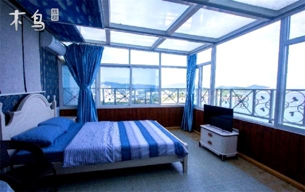 三亚大东海一线观海9室2厅空中大别墅