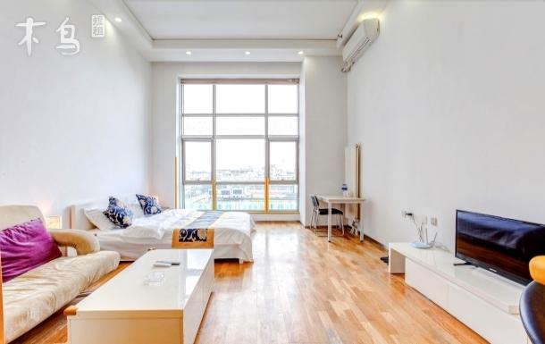 宜居珠江摩尔大厦温馨大床房
