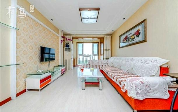 青岛金沙滩海风情公寓海景暖气二居室