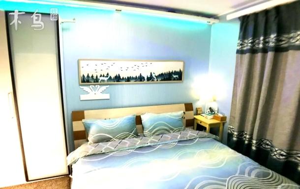 广州东站爱家公寓豪华大床房出租