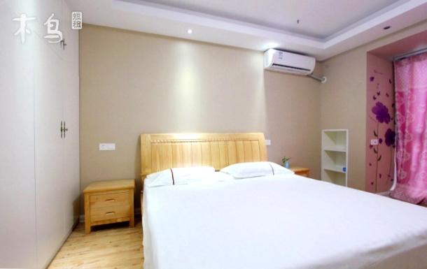 精装观海公寓大床房+韩国风情街+高铁站