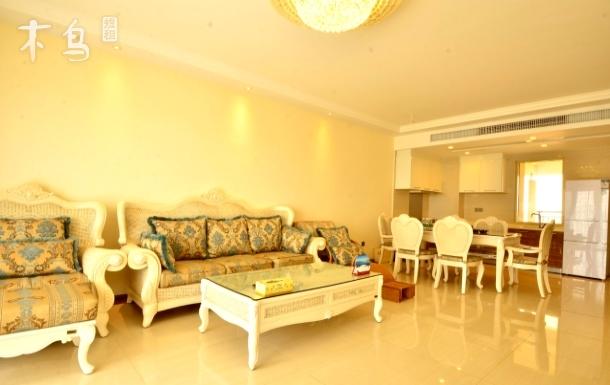 三亚海棠湾福湾度假公寓 豪华园景两室一厅