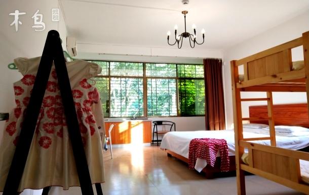 海棠湾近301医院、蜈支洲岛开放式厨房四人家庭房