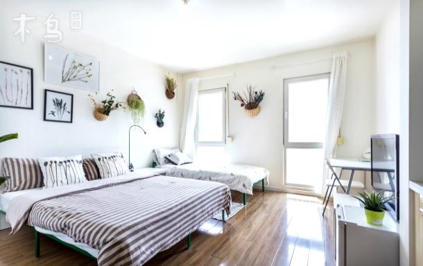 上地暖房整租双床可住3人3号线一居
