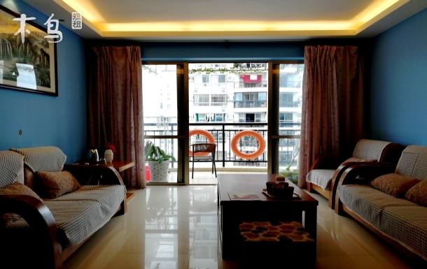 途管家.三亚市区+大东海海景+沙滩+5房