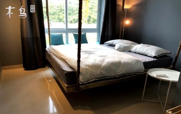 深圳市大梅沙海景复式双大床房