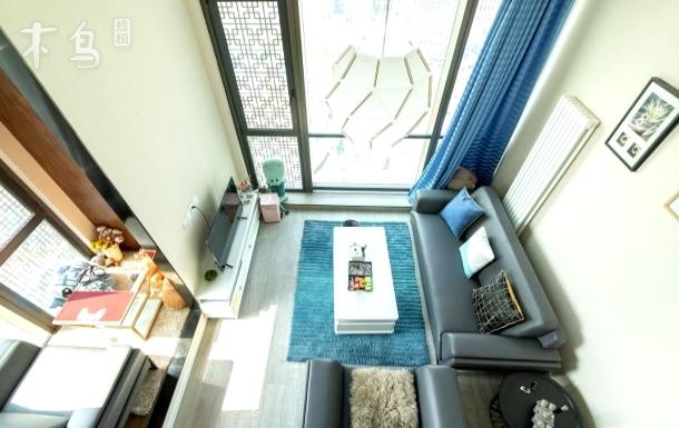 城市民宿,豪华复式,网红民宿,地铁六号线 一居室