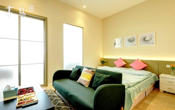 商务旅游,高端公寓,地铁六号线,首都机场 一居室公寓