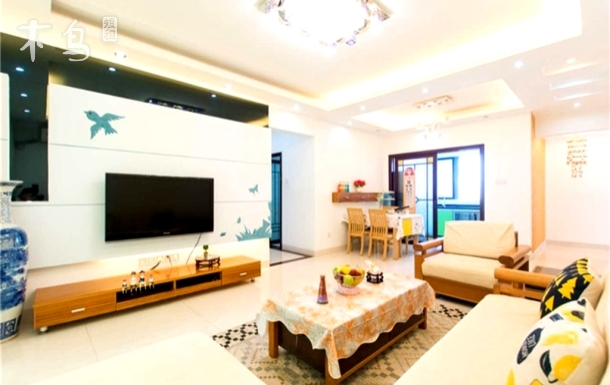 三亚湾椰梦长廊海景度假公寓三居室
