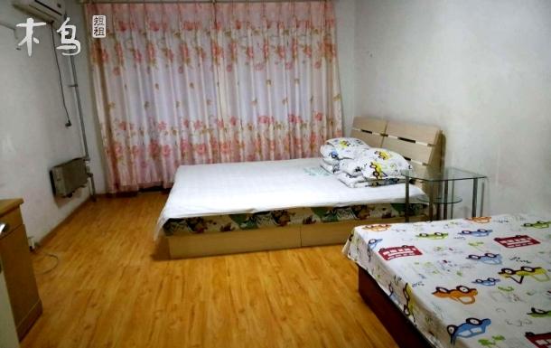 北医三院对面 公寓温馨家庭三人间