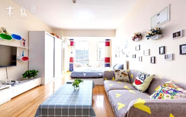 曼哈顿#良乡大学城 豪华套房智能大电视 一居室