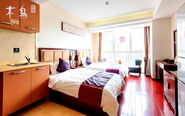 京港深公寓精品双床房