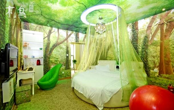 汉商购物中心 一居室公寓 挪威森林情趣主题房
