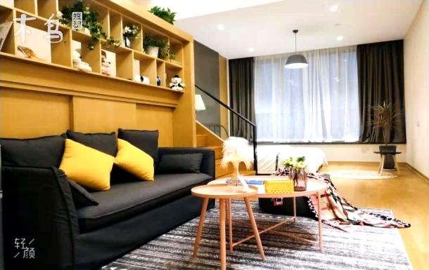 西湖景区整洁舒适loft双床房