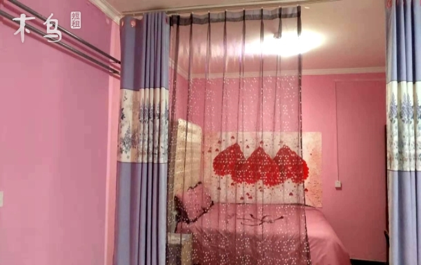 近地铁物资学院350米醉美情侣一居室
