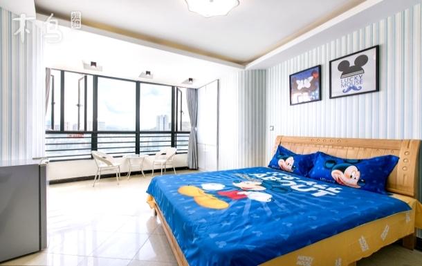 三亚湾椰梦长廊米奇主题大床房入住赠送免税店半日游